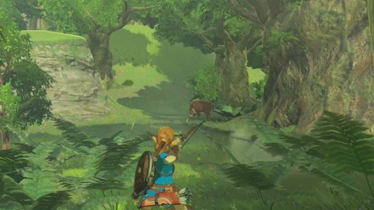 breath of the wild archery