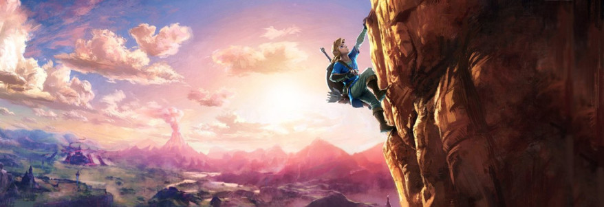 breath of the wild climbing