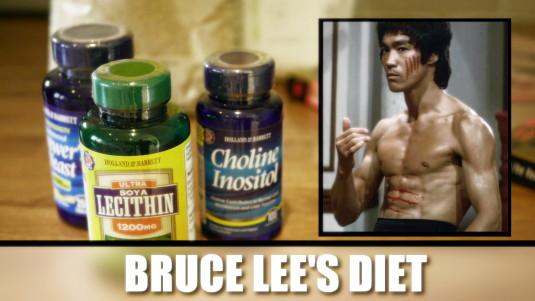 bruce lees diet